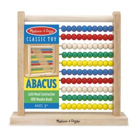Melissa & Doug: Abacus Classic Wooden Toy