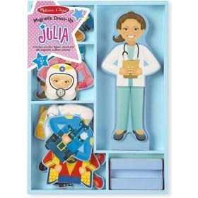 Melissa & Doug: Julia Magnetic Dress-Up