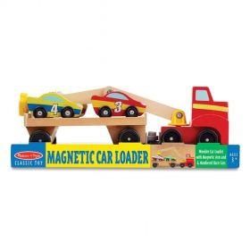 Melissa & Doug: Magnetic Wooden Car Loader (Toy)