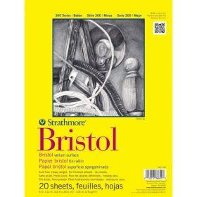 "Strathmore 300 Series Bristol Vellum Pad, 9""x12"""