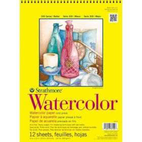 "Strathmore 300 Series Watercolor Pad 9""x12"""