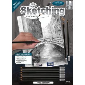 Royal & Langnickel: Standard Sketching Made Easy - Venice Bridge