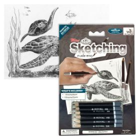 Royal & Langnickel: Mini Sketching Made Easy - Sea Turtles