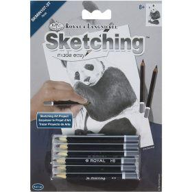 Royal & Langnickel: Mini Sketching Made Easy - Panda