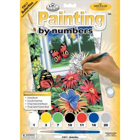 Royal & Langnickel: Painting by Numbers Junior Small (Butterflies)