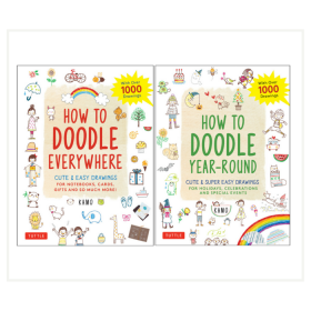 How To How To Doodle Bundle (Paperback)