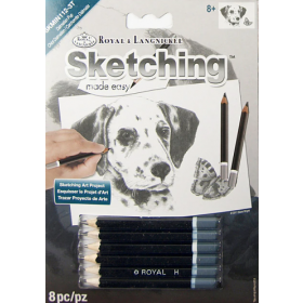 Royal & Langnickel: Mini Sketching Made Easy - Dalmatian Pup