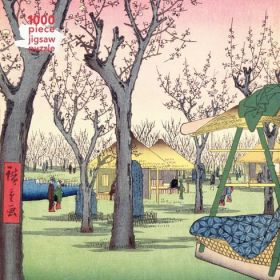 Utagawa Hiroshige: Plum Garden, 1000-piece Jigsaw Puzzle
