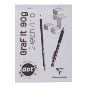 Clairefontaine: Graf It Glued Pad Dot Grid A5