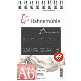 Hahnemuhle: A6 Sketch Paper Dessin 150 gsm