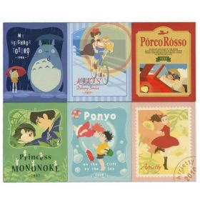 Studio Ghibli: Notepad 6 Sets (A Lot of Ghibli)