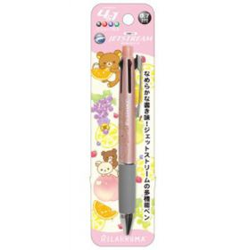 San-X: Uni Jetstream 4 in 1 0.7 mm, Rilakkuma (Pink)