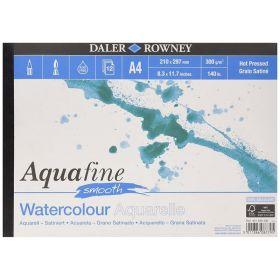 Daler-Rowney: Aquafine Smooth A4 Watercolour Pad, 12 Sheets