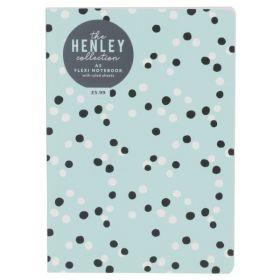 WHSmith: Henley Blue Dot A5 Flexi Notebook