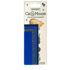 IF Cardboard Creations: Book Minders Page Markers, Cat & Mouse