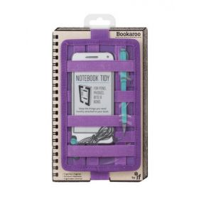 Bookaroo Notebook Tidy (Purple)