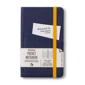 IF: Bookaroo A6 Pocket Notebook (Navy Blue)