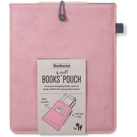 IF: Bookaroo Books & Stuff Pouch (Pale Pink)