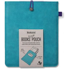 IF: Bookaroo Books & Stuff Pouch (Turquoise)