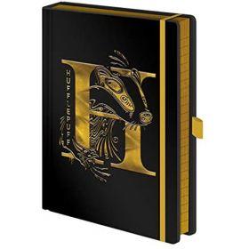 Harry Potter: A5 Premium Notebook (Hufflepuff Foil)