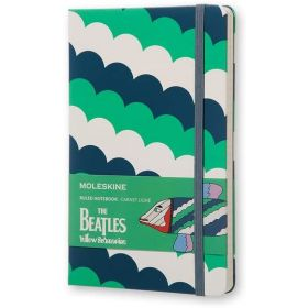 Moleskine Limited Edition: The Beatles Large Ruled Notebook - Fish (Hardcover)
