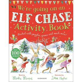 We're Going on an Elf Chase, Activity Book (Paperback)