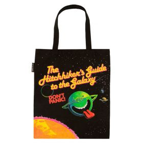 Out of Print: The Hitchhiker's Guide to the Galaxy Tote Bag