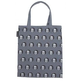Out of Print: Edgar Allan Poe-ka Dots Tote Bag