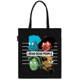 Out of Print: I Read Dead People Tote Bag