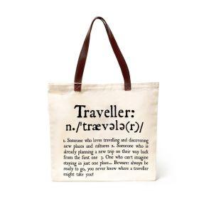 Legami Bags & Co: Traveller Shopping Bag