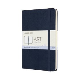 Moleskine Art Sketchbook, Medium, Sapphire Blue (Hardcover)