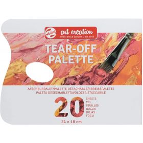 Royal Talens: Talens Art Creation Tear-Off Palette