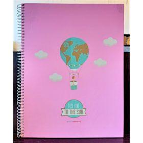 Miquelrius: A4 Spiral Notebook (Fly Tutti Confetti)