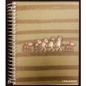 Miquelrius: A6 Spiral Notebook (Kukuxumusu, Slaveolution)