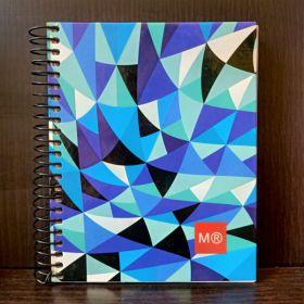MIquelrius: A6 Spiral Notebook (Futurefunk Az. Art)