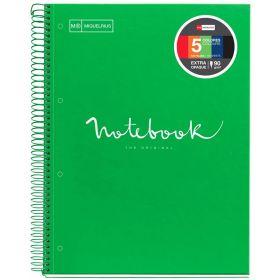Miquelrius: A4, Emotions Spiral Notebook (Green)