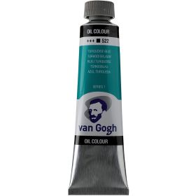 Van Gogh: Oil Color Paint, 40ml Tube, Turquoise Blue