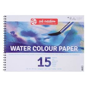 Talens Art Creation: Water Colour Paper A4, 15 Sheets