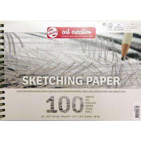 Talens Art Creation: Sketch Paper A4, 100 Sheets