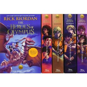 The Heroes of Olympus, The Complete Series Boxed Set, 10th Anniversary Edition (Paperback)