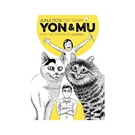 Junji Ito's Cat Diary: Yon & Mu (Paperback)