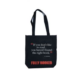 Fully Booked Quote Tote Bag: Rowling (Black)