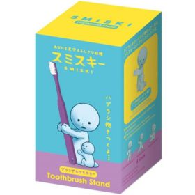 Smiski: Toothbrush Stand Holding, Hugging (Purple)
