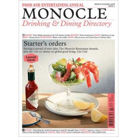 The Monocle Drinking & Dining Directory Issue 1—2018, Spring/Summer