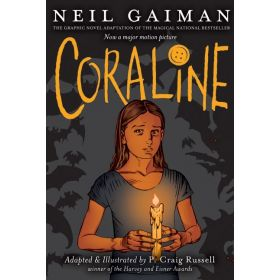 Coraline, Graphic Novel (Paperback)