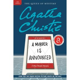A Murder Is Announced: Miss Marple Mysteries (Paperback)