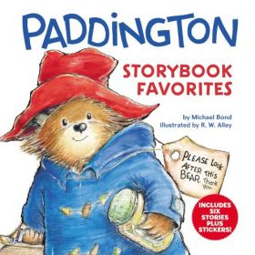 Paddington Storybook Favorites: Includes 6 Stories Plus Stickers! (Hardcover)