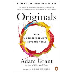 Originals: How Non-Conformists Move the World (Paperback)