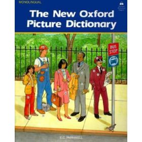 The New Oxford Picture Dictionary: Monolingual English Edition (Paperback)