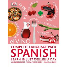 Complete Language Pack Spanish: Learn in just 15 minutes a day (Paperback)